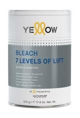 Pudra decoloranta alba Yellow 7 tonuri 500g