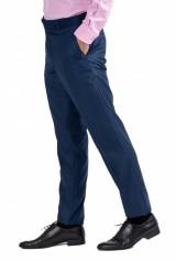 Pantaloni barbati, DO&DO, slim fit, albastru