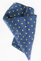 Batista bleumarin cu puncte galbene