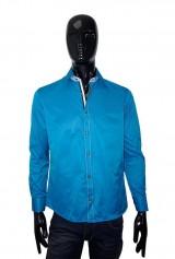 Camasa Albertino bleu satinat